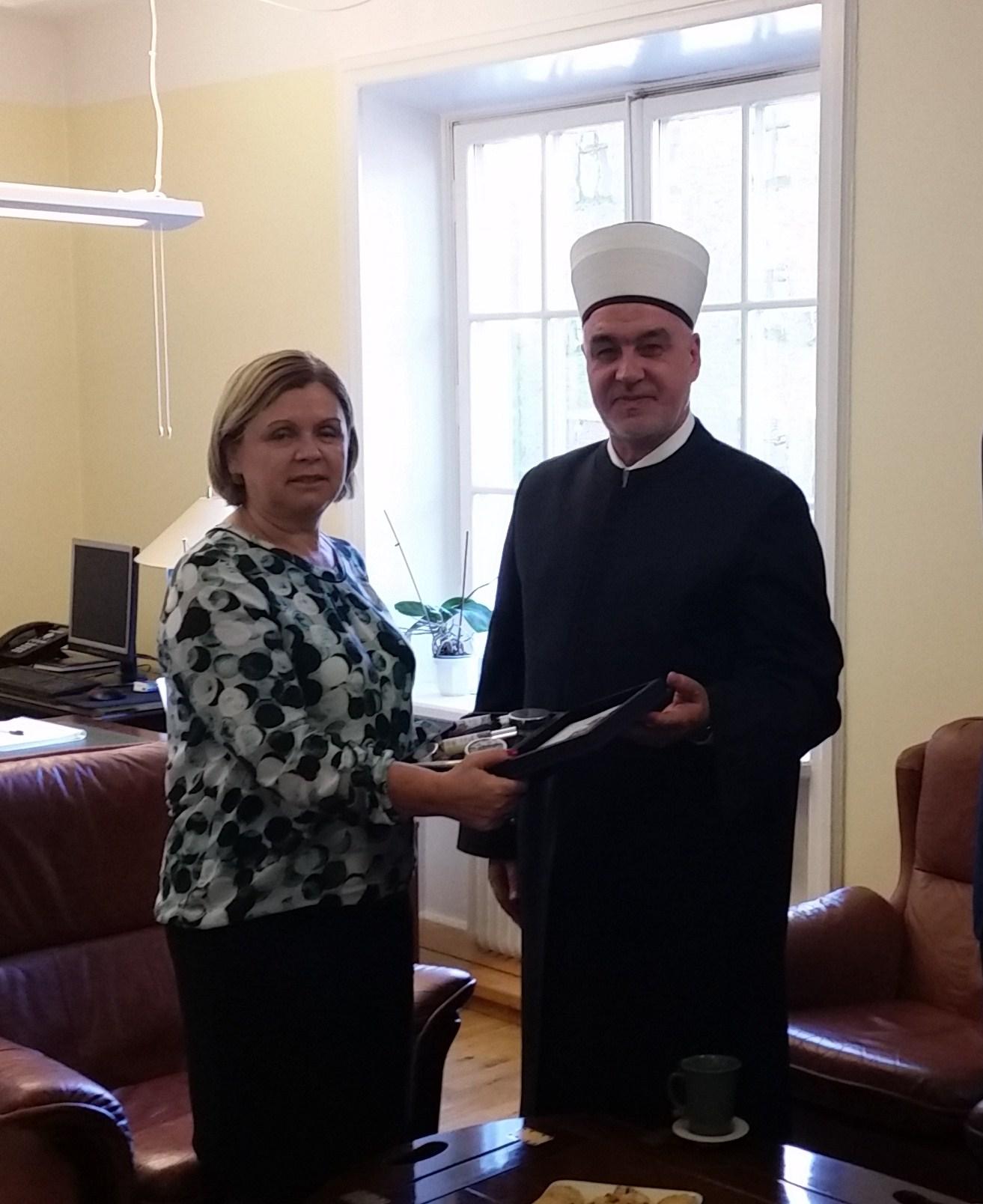 Posjeta Reisu-l-ulema Husein ef. Kavazovića